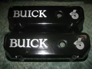 black turbo valve covers