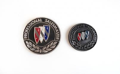 buick Professional Salesmaster medallions
