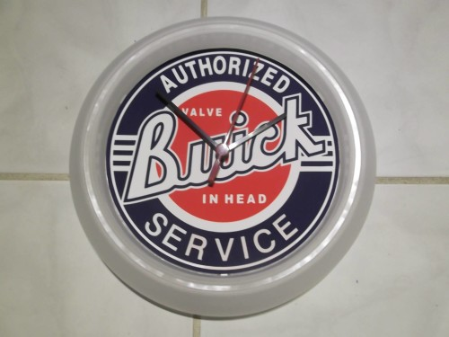 buick authorized service 9 inch wall clock