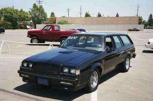 buick gn wagon