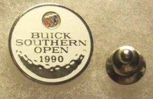buick southern open golf 1990 pin