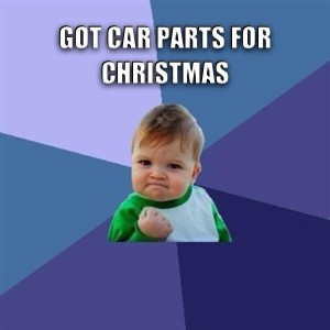 car parts for christmas