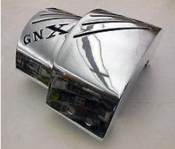 gnx polished aluminum turbo shield