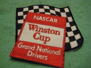 nascar winston cup grand national drivers patch