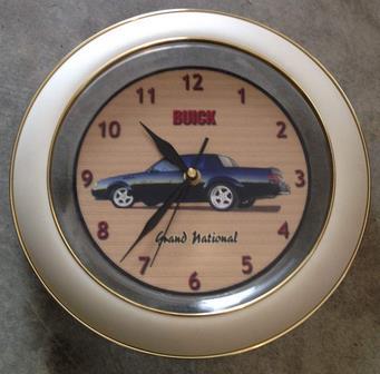 round buick clock