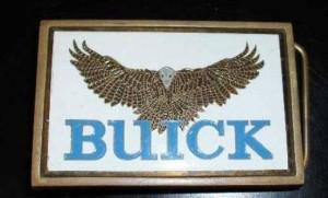 1983 buick hawk belt buckle solid brass