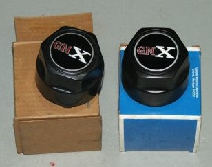2 gnx caps in box