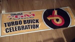 2013 carlisle all buick celebration banner