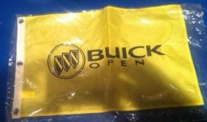 Buick Open Flag Banner