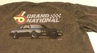 buick grand national car shirt