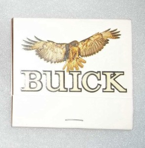 buick hawk matchpack cover