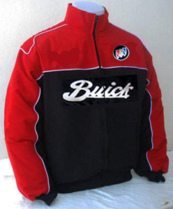 buick nameplate & tri shield logo jacket