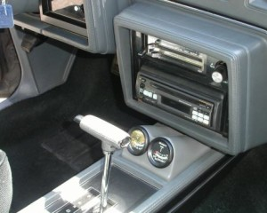console gauge pod