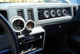 Turbo Regal Interior Gauge Placement