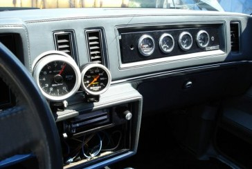 Turbo Regal Interior Gauge Placement
