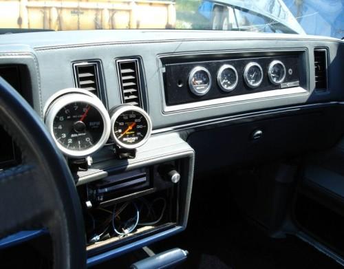 dash plaque gauges