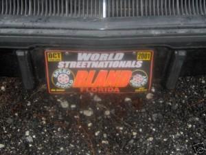 drag plate