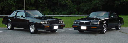 86 87 buick grand national
