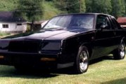 Back in Black: Buick Grand National