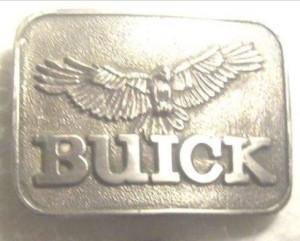 happy the hawk buick belt buckle