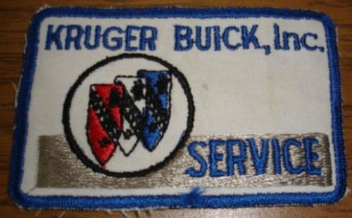 kruger buick patch