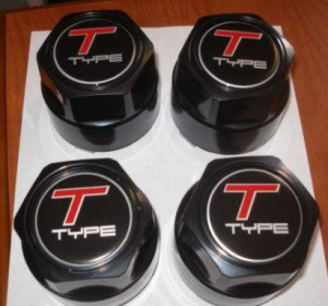 t-type center caps