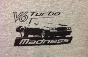 v6 turbo shirt