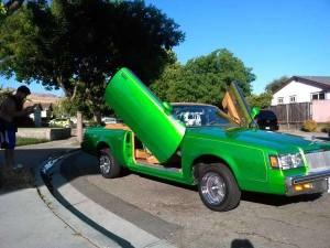 1984 Buick Regal convertible lambo doors 1