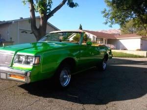 1984 Buick Regal convertible lambo doors 2