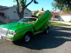 1984 Buick Regal convertible lambo doors 3