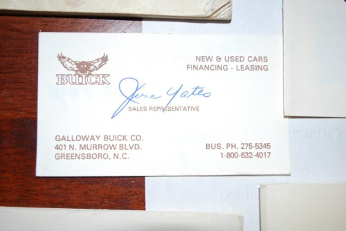 1987 buick salesman pocket guide 4