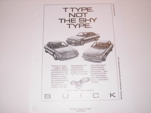 1987 buick dealer advertising workbook 2