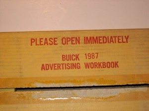 1987 buick dealer advertising workbook 4