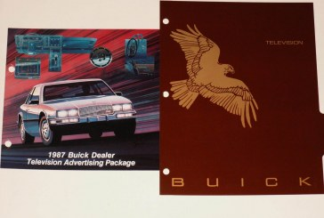 1987 Buick Dealer Advertising Workbook