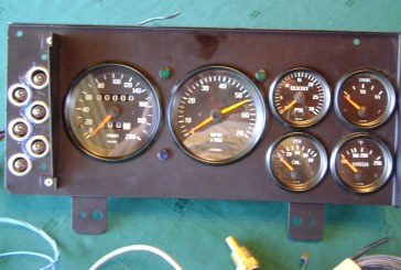 AVC Buick GNX Dash Cluster