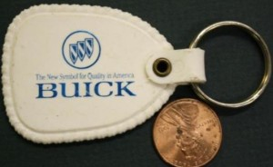 Heritage Buick dealership key chain