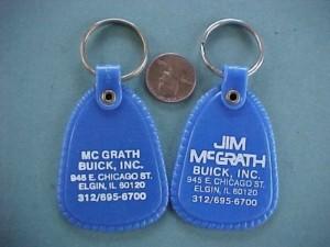 Jim McGrath Buick car dealership keychain