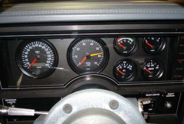 Performance Instruments Buick GNX Style dash