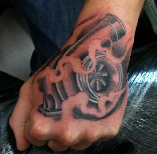 a turbo tattoo