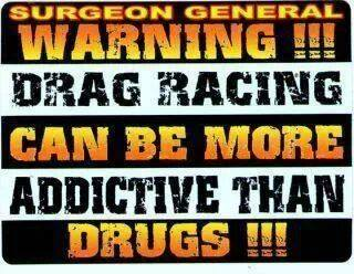 racing is addictive