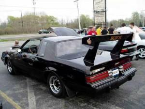 buick big rear spoiler