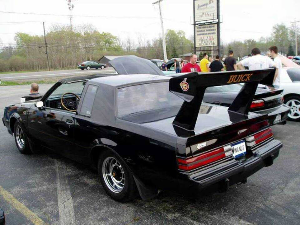 Big Wing on 1987 Buick Grand National
