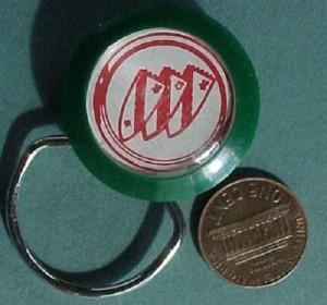 buick crest bubble keychain