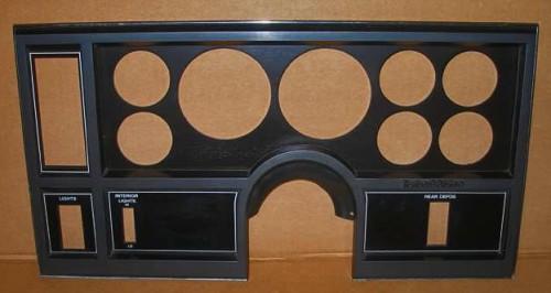 buick gauge bezel 2