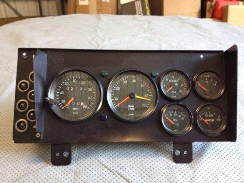 buick gnx style instrument panel 1