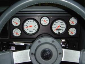 buick gnx type gauge cluster