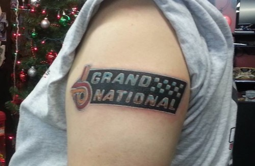 buick grand national tattoo