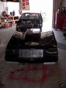 buick regal one piece front end