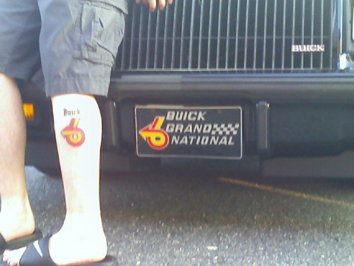 buick turbo 6 tattoo