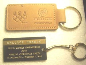 buick works engineering keychain